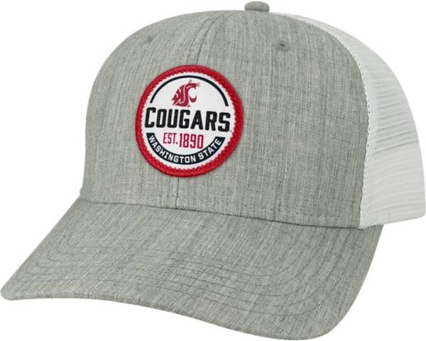 League-Legacy Men's Washington State Cougars Grey Mid-Pro Adjustable Trucker Hat product image