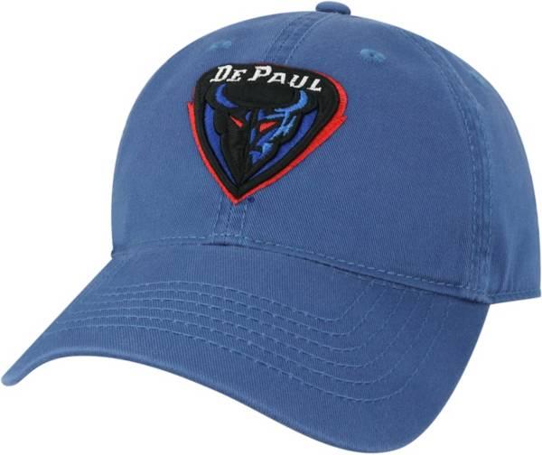 League-Legacy Men's DePaul Blue Demons Royal Blue EZA Adjustable Hat product image
