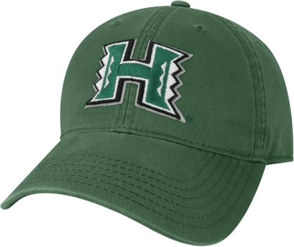 League-Legacy Men's Hawai'i Warriors Green EZA Adjustable Hat product image