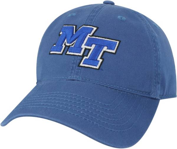 League-Legacy Men's Middle Tennessee State Blue Raiders Blue EZA Adjustable Hat product image