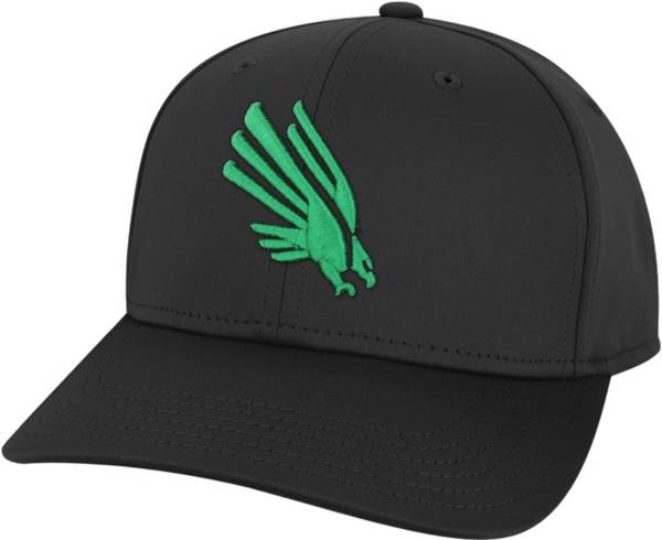 League-Legacy Men's North Texas Mean Green Cool Fit Stretch Black Hat product image