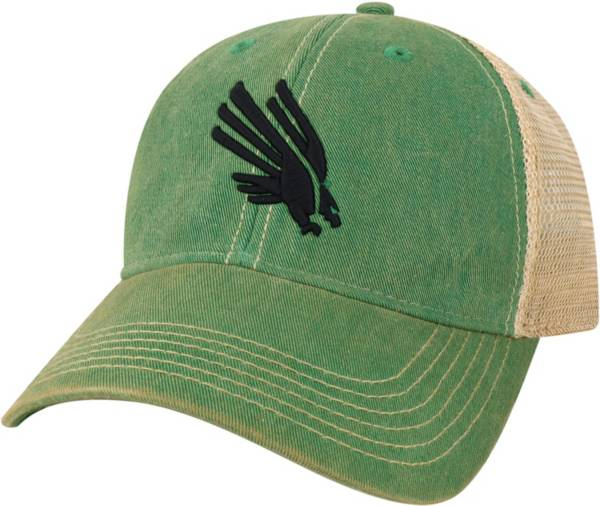League-Legacy North Texas Mean Green Green Old Favorite Adjustable Trucker Hat product image