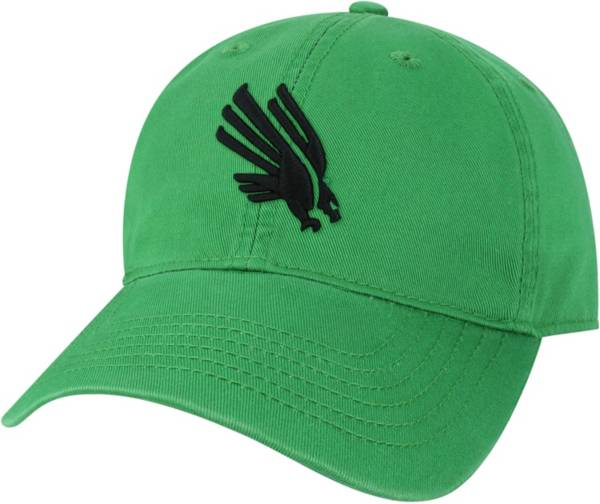 League-Legacy Men's North Texas Mean Green Green EZA Adjustable Hat product image