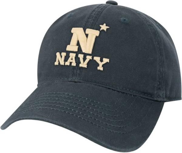 League-Legacy Men's Navy Midshipmen Navy EZA Adjustable Hat product image