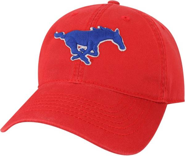 League-Legacy Men's Southern Methodist Mustangs Red EZA Adjustable Hat product image