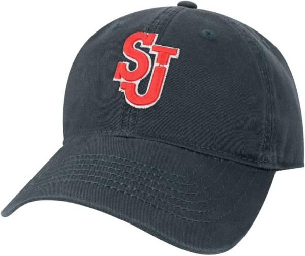 League-Legacy Men's St. John's Red Storm Navy EZA Adjustable Hat product image