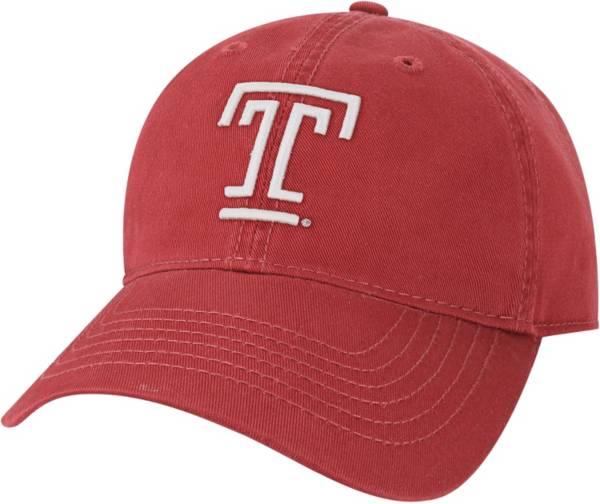 League-Legacy Men's Temple Owls Cherry EZA Adjustable Hat product image