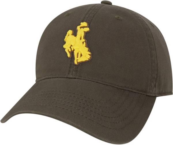 League-Legacy Men's Wyoming Cowboys Brown EZA Adjustable Hat product image