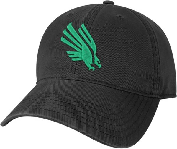 League-Legacy Youth North Texas Mean Green Relaxed Twill Adjustable Black Hat product image