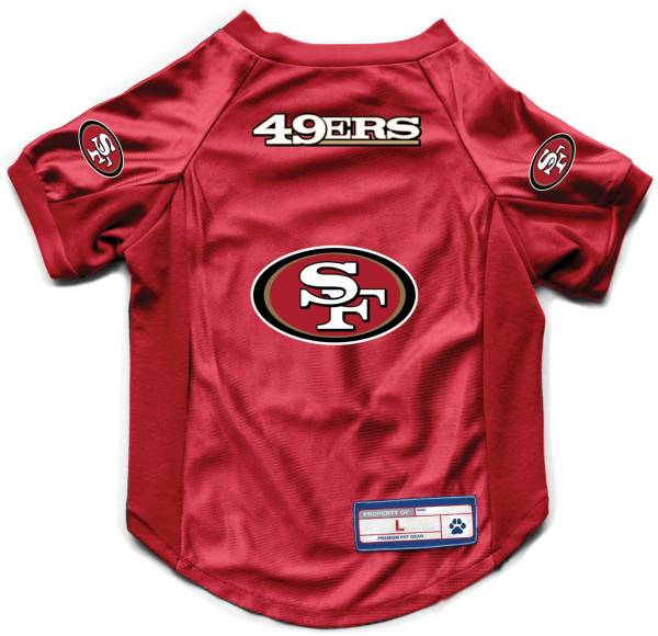Little Earth San Francisco 49ers Pet Stretch Jersey product image