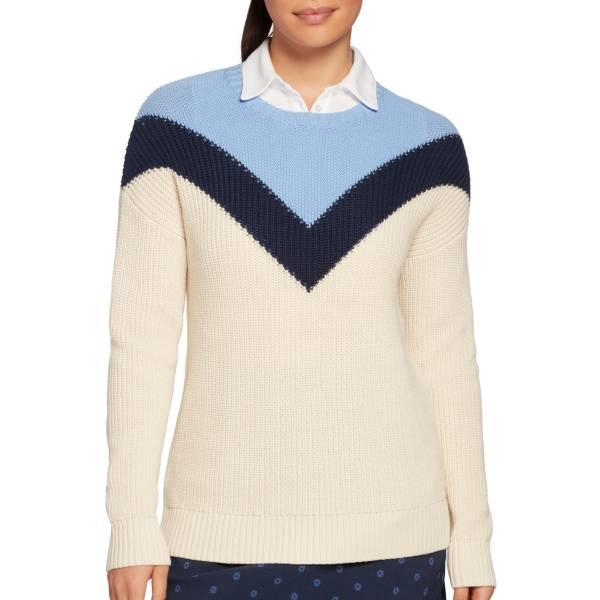 Lady Hagen Women's Chevron Colorblock Golf Sweater product image