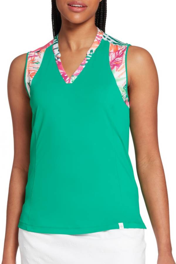 Lady Hagen Women's Tropical Piece Sleeveless Golf Polo product image