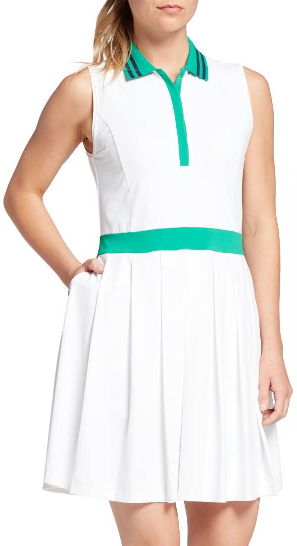 Lady Hagen Women's Tropical Pleated Sleeveless Golf Dress product image