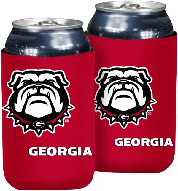 Georgia Bulldogs Flat Koozie product image