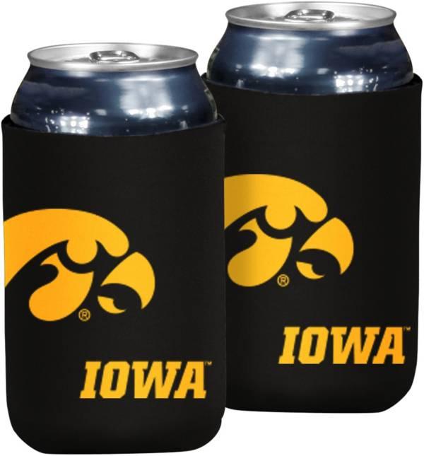 Iowa Hawkeyes Flat Koozie product image