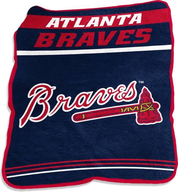 Logo Atlanta Braves 50'' x 60'' Game Day Throw Blanket product image