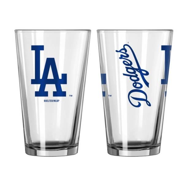 Logo Los Angeles Dodgers 16oz. Pint Glass product image