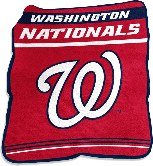 Logo Washington Nationals 50'' x 60'' Game Day Throw Blanket product image