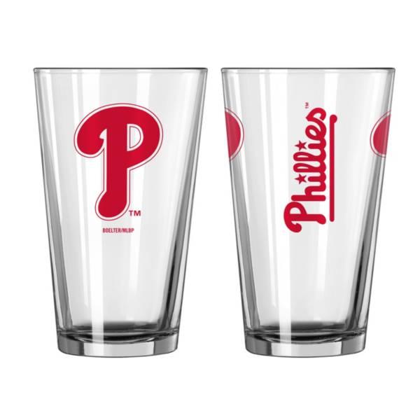 Logo Philadelphia Phillies 16oz. Pint Glass product image