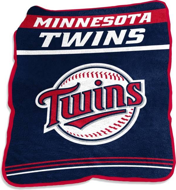 Logo Minnesota Twins 50'' x 60'' Game Day Throw Blanket product image
