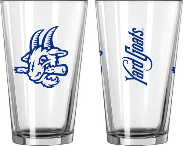 Logo Hartford Yard Goats 16 oz. Pint Glass product image