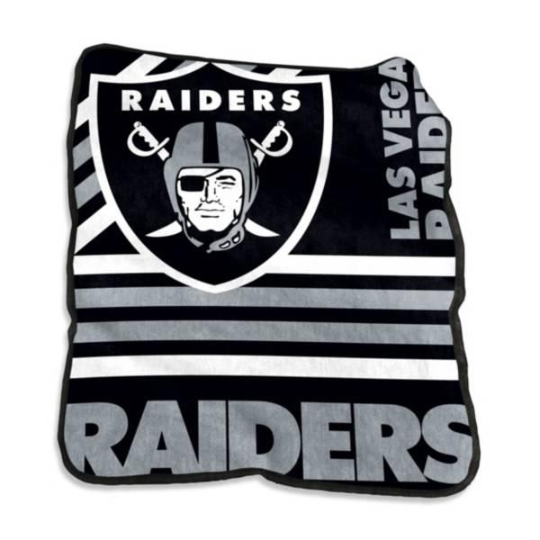 Logo Oakland Raiders Raschel Throw product image