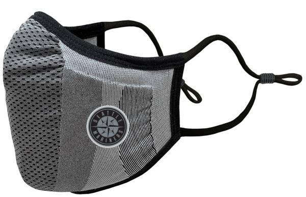 Levelwear Adult Seattle Mariners Grey Tonal Logo Guard 3 Face Covering product image