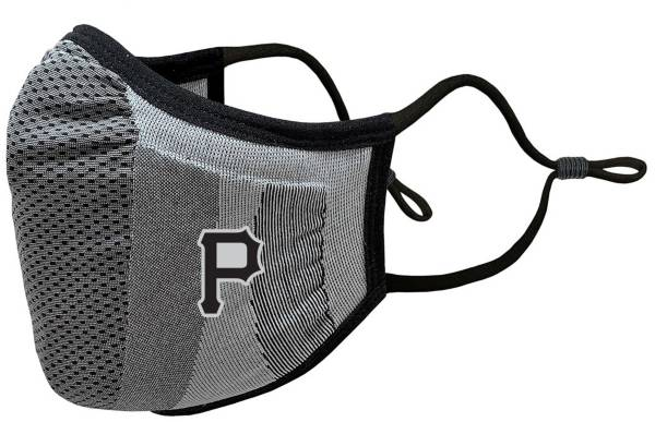 Levelwear Adult Pittsburgh Pirates Grey Tonal Logo Guard 3 Face Covering product image