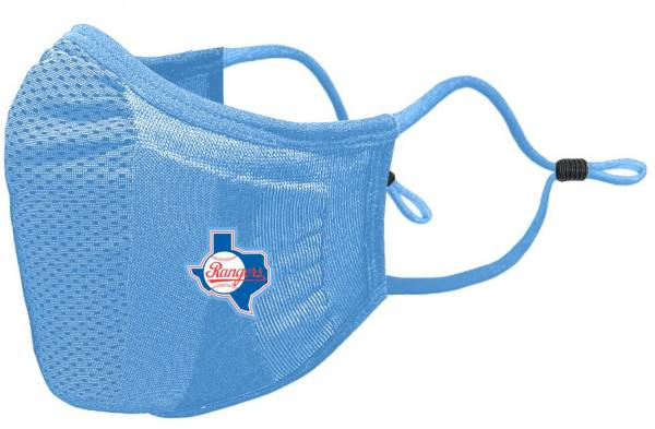 Levelwear Adult Texas Rangers Blue Retro Logo Guard 3 Face Covering product image