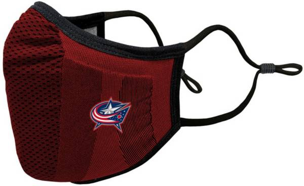 Levelwear Adult Columbus Blue Jackets Guard 3 Red Face Mask product image