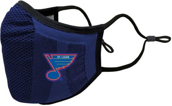 Levelwear Adult St. Louis Blues Vintage Guard 3 Royal Face Mask product image