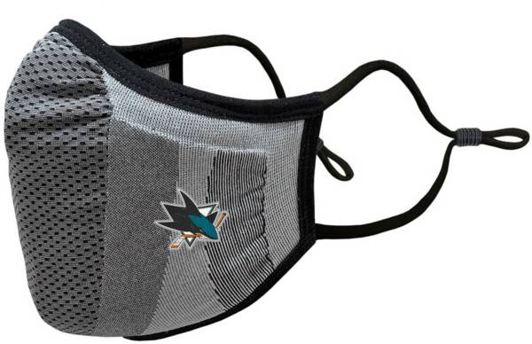 Levelwear Adult San Jose Sharks Guard 3 Gray Face Mask product image