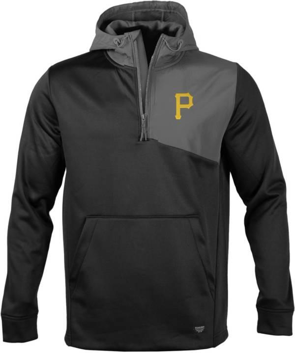 Levelwear Men's Pittsburgh Pirates Black Beacon Insignia Core ¼ Zip product image