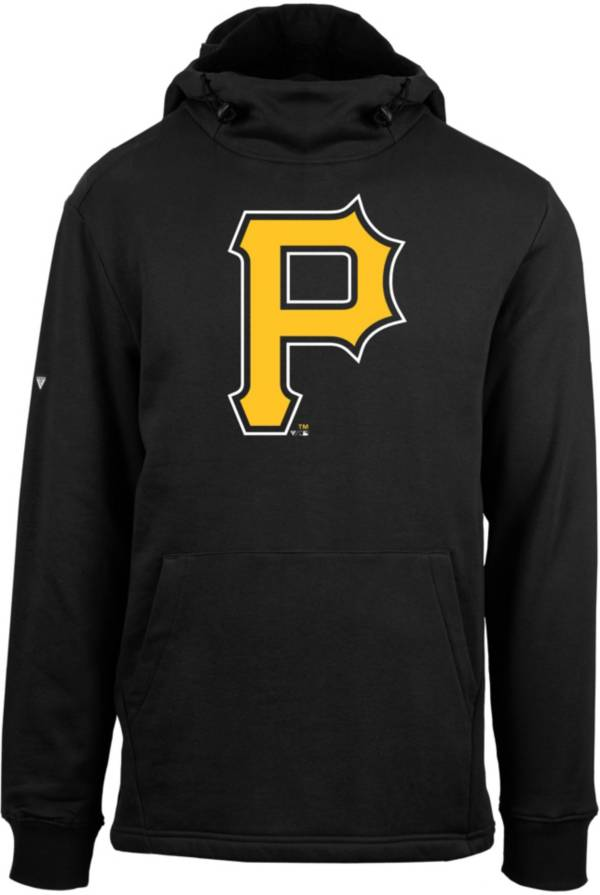 Levelwear Men's Pittsburgh Pirates Black Shift Core Full Front Hoodie product image