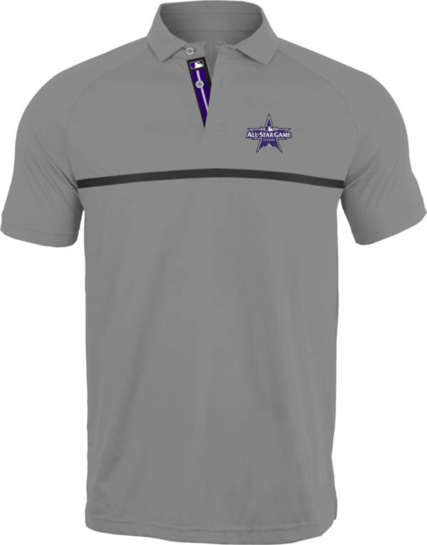 Levelwear Men's Colorado Rockies Grey 2021 All-Star Game Polo product image