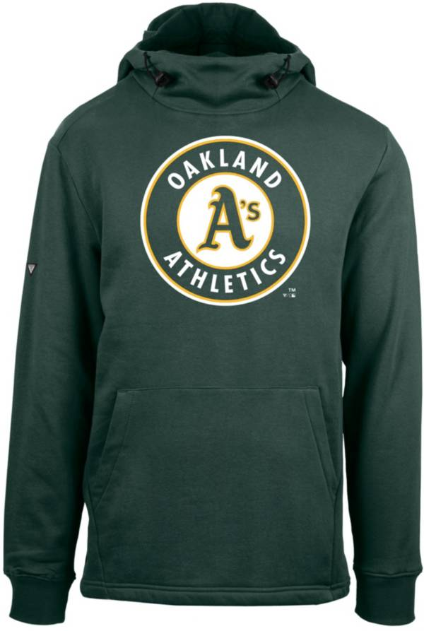 Levelwear Men's Oakland Athletics Green Shift Core Full Front Hoodie product image