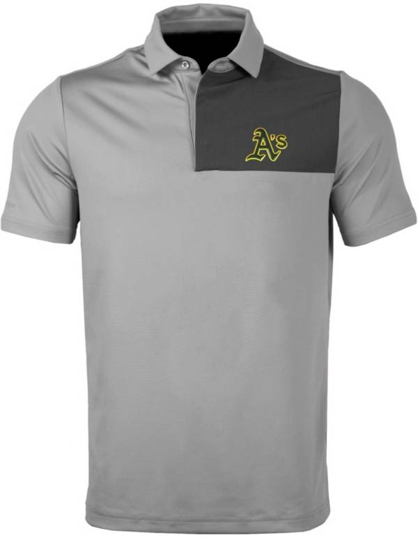Levelwear Men's Oakland Athletics Gray Nolan Insignia Core Polo product image