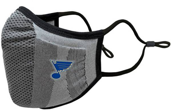 Levelwear Youth St. Louis Blues Guard 3 Gray Face Mask product image