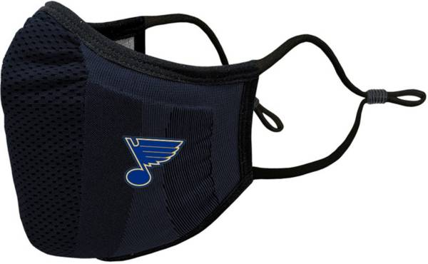 Levelwear Youth St. Louis Blues Guard 3 Navy Face Mask product image