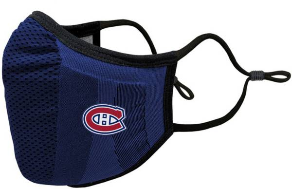 Levelwear Youth Montreal Canadiens Guard 3 Navy Face Mask product image