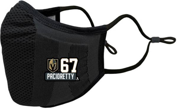 Levelwear Youth Vegas Golden Knights Guard 3 Black Face Mask product image
