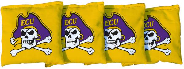 Victory Tailgate East Carolina Pirates Yellow Cornhole Bean Bags product image