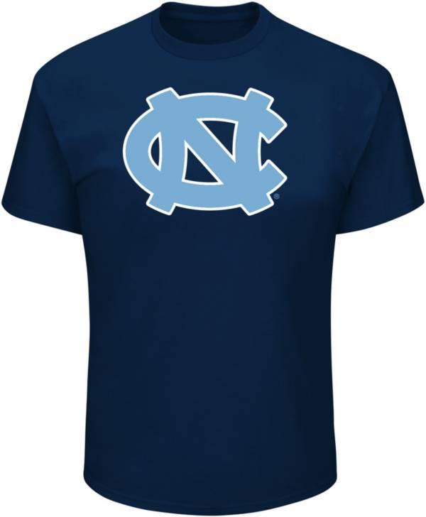 Profile Varsity Men's Big and Tall North Carolina Tar Heels Navy T-Shirt product image