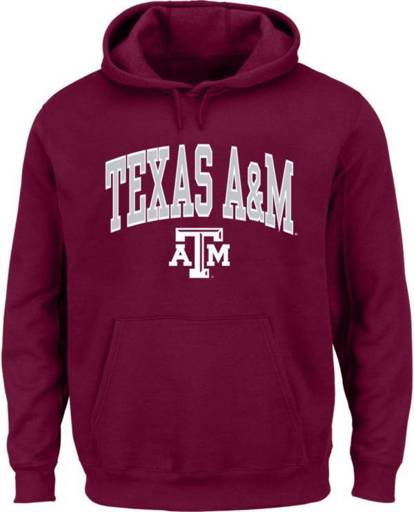 Majestic Men's Big and Tall Texas A&M Aggies Maroon Pullover Hoodie product image