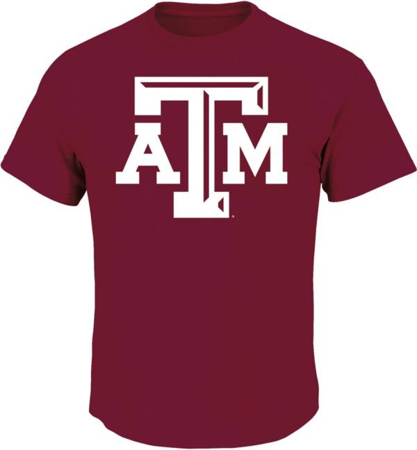 Majestic Men's Big and Tall Texas A&M Aggies Maroon T-Shirt product image