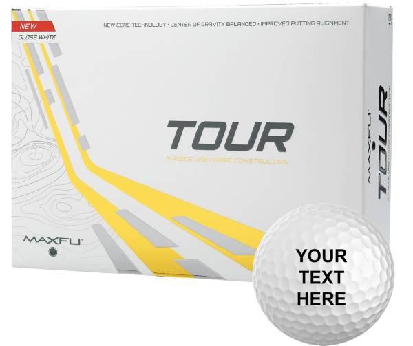 Maxfli Tour Gloss White Personalized Golf Balls product image
