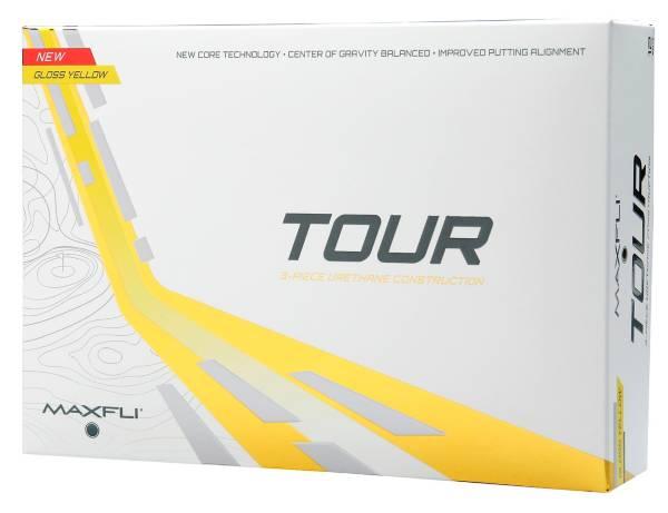 Maxfli Tour Gloss Yellow Golf Balls product image