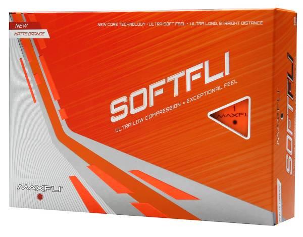Maxfli 2021 Softfli Matte Orange Golf Balls product image