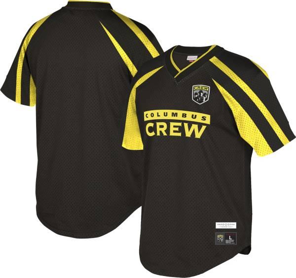 Mitchell & Ness Men's Columbus Crew '96 Retro Black V-Neck Jersey product image