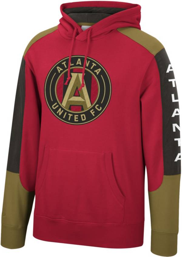 Mitchell & Ness Men's Atlanta United Fusion Red Pullover Hoodie product image